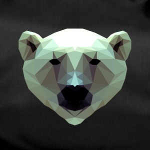 3D Polygon Design Bear Icebear T-Shirt Tee - Sporttasche