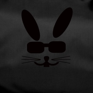 Eastern Bunny with sunglasses Rabbit Sunglasses - Duffel Bag