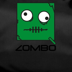 Zombie 'Zombo' Monster | Qbik Design Series - Sportväska