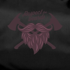 Respect the beard t shirt - Duffel Bag