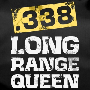 338 caliber long range rifle shooting t-shirt - Duffel Bag