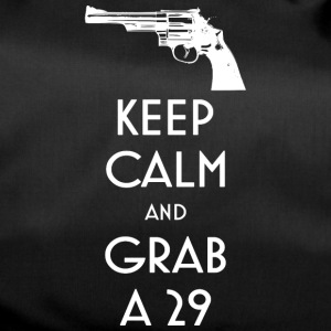 Keep Calm and Grab a 29 revolver t-shirt - Duffel Bag