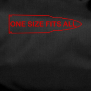 one size fits all ammo t shirt - Duffel Bag