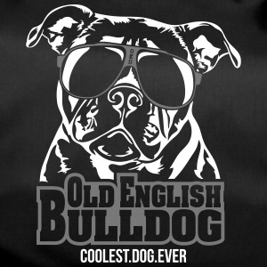 OLD ENGLISH BULLDOG coolest dog - Duffel Bag