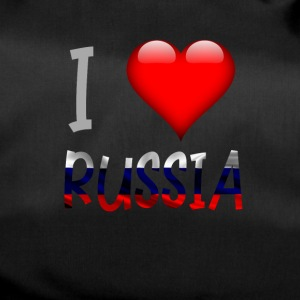 I love Russia Russian Russian Shirt design - Duffel Bag