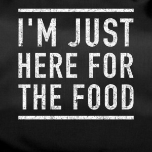 I'm here for the food funny shirt - Duffel Bag
