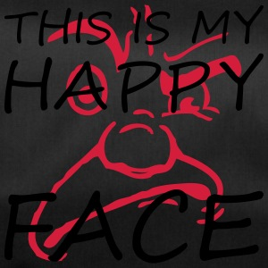 This is my happy face - Duffel Bag