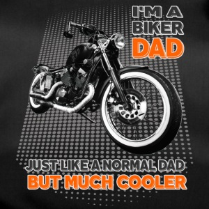 I'm a biker dad, but much cooler Dad father moped - Duffel Bag
