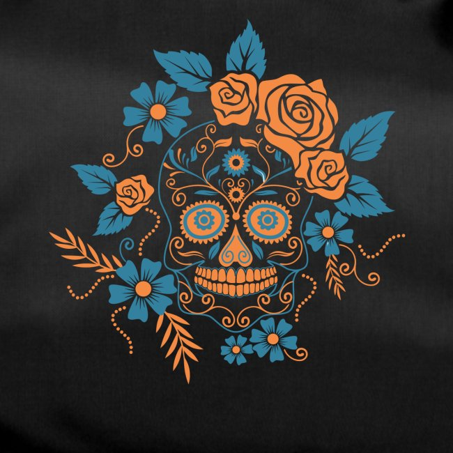 Mexikanischer Totenkopf mexikanisch Karneval