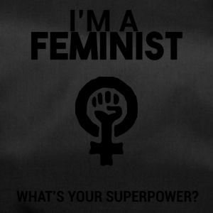 I am a feminist, what's your super power? - Duffel Bag