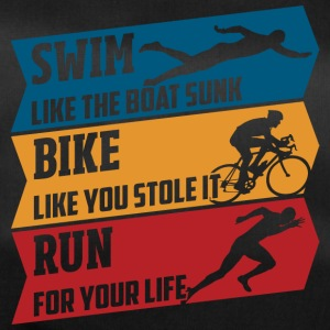 Swim - Bike - Run - Borsa sportiva