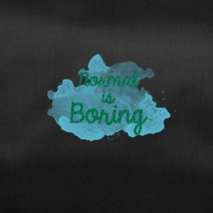 Normal is Boring - Sporttas