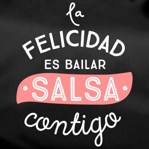 HAPPINESS IS DANCING SALSA CONTIGO - Duffel Bag