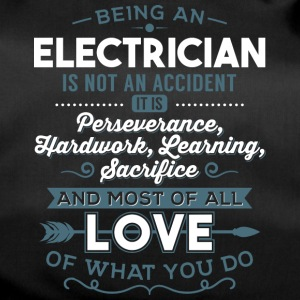 Love what you do - Electrician - Duffel Bag