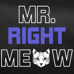 MR RIGHT MEOW - Sporttasche
