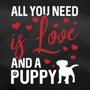 All you need is love and a puppy - Sporttasche