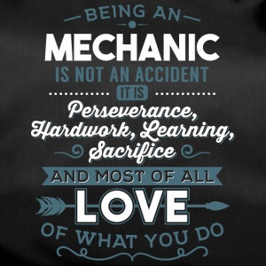Love what you do - Mechanic - Sporttasche