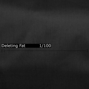 Deleting Fat: Gym, Workout, Fitness - Duffel Bag