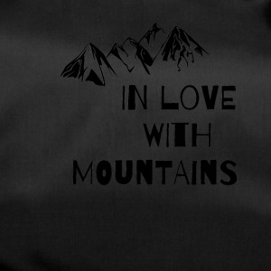 In Love With Mountains T-Shirt - Duffel Bag