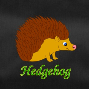 Vektor-Illustration Hedgehog - Sporttasche