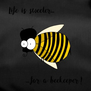 funny bee, beekeeper t shirt - Duffel Bag
