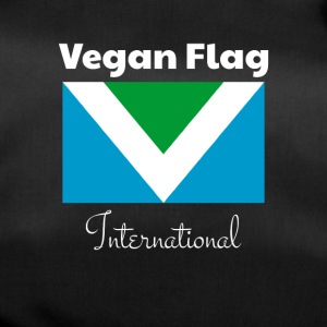 Official Vegan Flag International flag flag - Duffel Bag