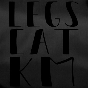 Legs eat kilometers - Duffel Bag
