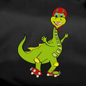 Dinosaur with shoes - Duffel Bag