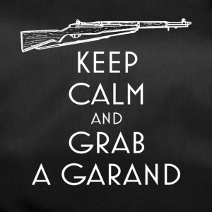 Keep Calm and Grab a Garand T-Shirt preppers - Sac de sport