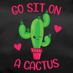 Go sit on a cactus - Duffel Bag