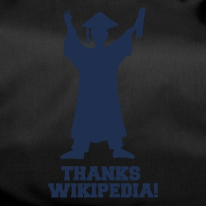 High School / Graduation: Tack Wiki.pedia! - Sportväska