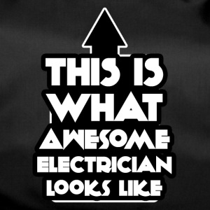 Elektriker: This is what awesome electrician looks - Sporttasche