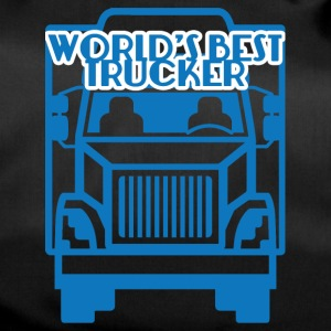 Trucker / vrachtwagenchauffeur: World's Best Trucker - Sporttas