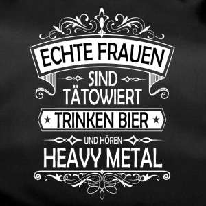 Heavy Metal Bier tattoo Frauen - Sporttasche
