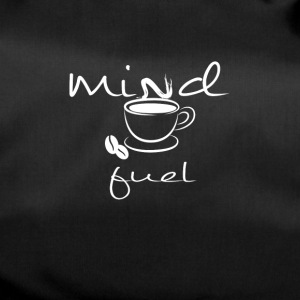 A cup of coffee is fuel for the mind - Duffel Bag