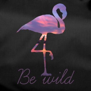 FLAMINGO BE WILD - Sporttas
