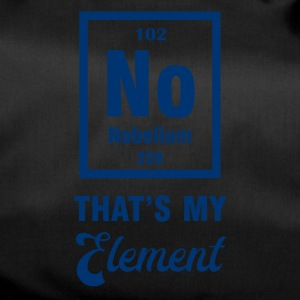 Periodensystem: Nobelium - that´s my Element - Sporttasche