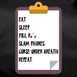 Doctor / Physician: Eat, Sleep, Fill Rx's, Slam Phones - Duffel Bag