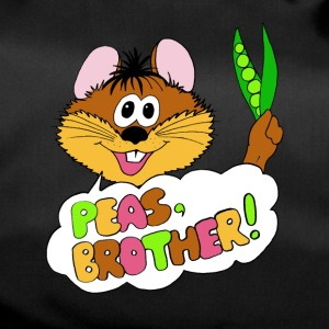 PEAS, BROTHER! - Duffel Bag