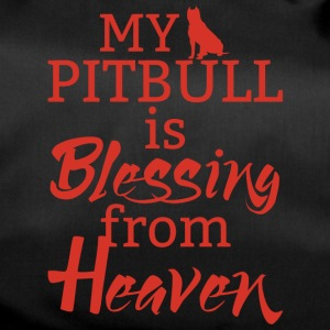 Dog / pitpull: Min Pitbull velsigner From Heaven - Sportsbag