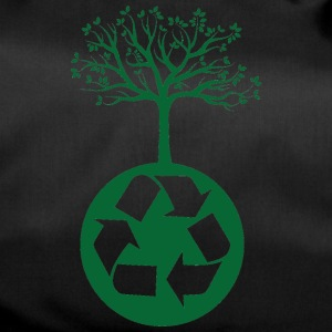 Earth Day / Earth Day: Recycling heals the Worl - Duffel Bag