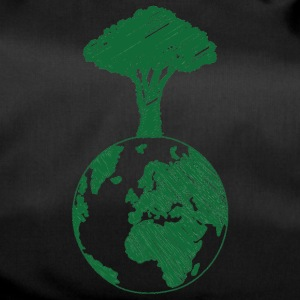 Earth Day / Earth Day: Earth and Tree - Duffel Bag