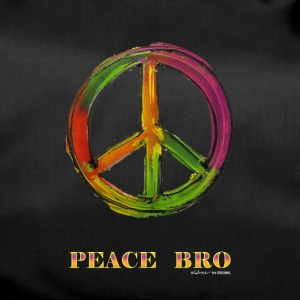 PEACE sign - PEACE BRO - Sporttas