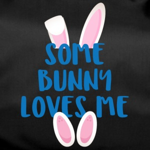 Easter / Easter Bunny: Some Bunny Loves Me - Duffel Bag