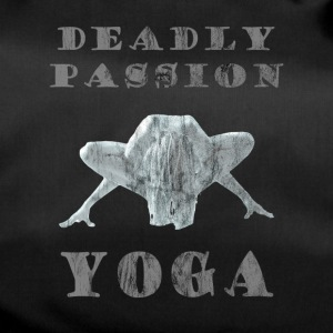 Yoga - Deadly Passion - Design Washed & Worn - Sporttasche
