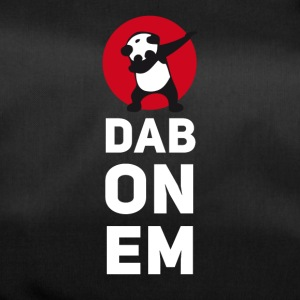 dab on em dabbing panda football touchdown mooving - Duffel Bag
