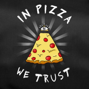 Pizza All Seeing Eye Illuminati FunnyFood ma occhio - Borsa sportiva