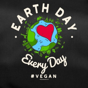 Earth Day Every Day Tshirt #vegan (Compassion) - Duffel Bag