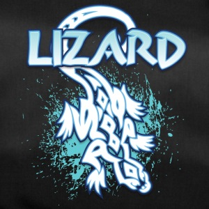 Cool lézard tribal - Sac de sport