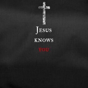 Jesus kennt dich Jesus knows you - Sporttasche